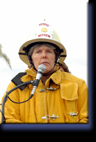 SDFD Chief Tracy Jarman