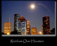 Rainbow Over Houston